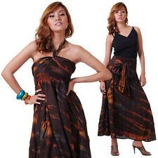 Damenkleider im Boho -/Hippie-Stil mit Neckholder aus Baumwolle