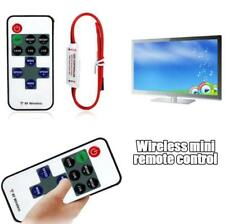 Mini RF Wireless Remote Switch Dimmer Controller For LED Strip Light DC 12V