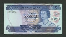 Solomon Islands Qeii $5 1977 P6a Uncirculated World Paper Money