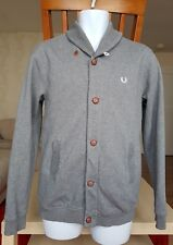 Junior FRED PERRY youth cardigan size XL 16 age or adult S