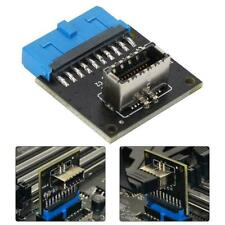 Motherboard Expansion Card USB3.0 Front 19PIN to 3.1 TYPE-C Front Type-E Adapter