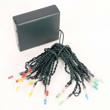 Philips 18 Ct Christmas Battery Operated LED Micro String Lights - Multicolored