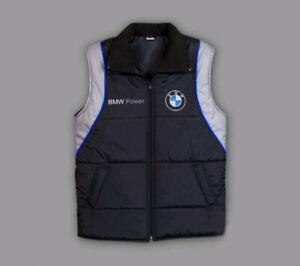 Mans BMW Motor Sport Vest Motorsport Jacket, Sleevless, size S-3XL
