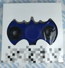 Batman Finger Fidget Hand Spinner Fast Kids Toy Craze BLUE Gadget *new*