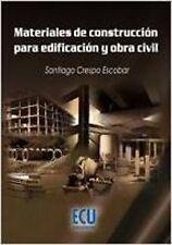 Materiales de construcción para edificación y obra civil. NUEVO. Envío URGENTE