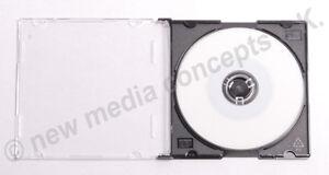 Mini CD-R 200 MB, Single,10 Stück BEDRUCKBAR + CD-Hülle