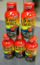 NEW Sealed Berry 5-Hour Energy Energy Drink 5 Count Exp 07/2020