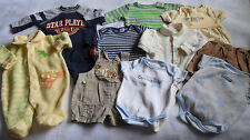 10 pcs 0-3M BOY BABY CLOTHES LOT Disney Carters Calvin Klein Old Navy Y356