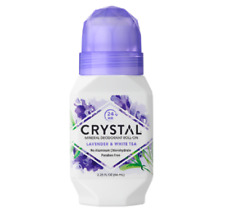 Crystal Mineral Roll On Deodorant - Lavender & White Tea 66ml