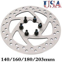 MTB Bicycle Disc Brake Rotors 140/160/180 / 203mm Discs 6-Hole Disc Rotor Brakes