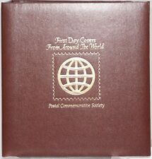 First Day Covers From Around The World 2 Seperate Albums SKU: 077
