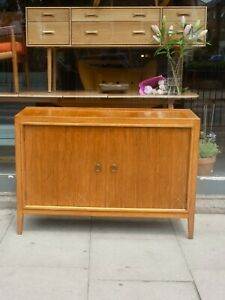 """Vintage 1950s Gordon Russell Rosewood and Mahogany """"Double Helix' sideboard"""