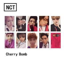 9PCS KPOP NCT127 Cherry Bomb Photo Card Collective Signature Photograph Poster