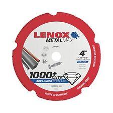 "Lenox Tools 1972919 METALMAX Diamond Edge Cutoff Wheel, 4"" x 3/8"""