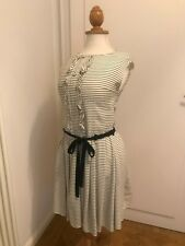 Original Prada Kleid 34 Sommerkleid Marine XS ital. 38