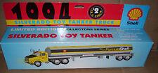 1994 Shell Plastic Silverado Toy Tanker Truck Ltd Ed. Collectors Series In Box