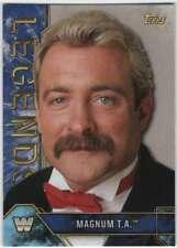 2017 Topps Legends of WWE Wrestling Blue Parallel /50 #60 Magnum T.A.
