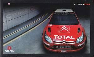 brochure 2006 CITROËN C4 WRC ___ !!! __ with CD____________________English text