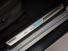 Isuzu D-Max Illuminated Sill Cover Set - Blue - Double Cab