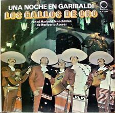 Los Gallos De Oro - Una Noche En Garibaldi LP VG+ MS 2086 Vinyl 1979 Record