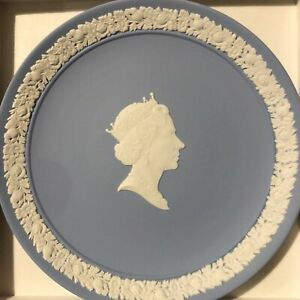 Wedgewood Queen Elizabeth II 60th Birthday Plate
