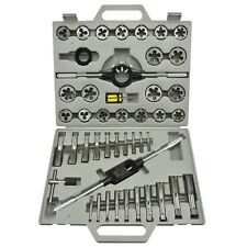 Metric Tap and Die Tool Kit Set HSS 45pc with Case Threader New FREE SHIPPING