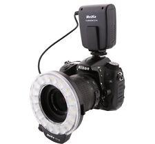 Meike FC-110 Macro LED Ring Flash Light for Canon 70D 80D Nikon D750 Cameras