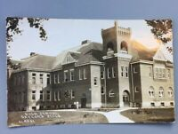Gaylord Michigan Mi Real Photo RPPC Postcard Posted 1916 High School L-5301 Rare