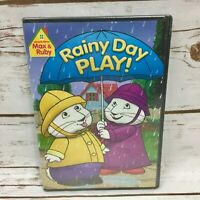 Max  Ruby: Rainy Day Play (DVD, 2011) New Sealed Children Story Time