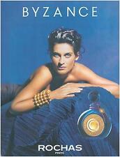 ▬► PUBLICITE ADVERTISING AD Parfum Perfume ROCHAS Byzance 1991