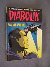 DIABOLIK ORIGINALE ANNO XLIV n°  1 - 2005 - RARO - OTTIMO
