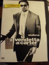 """DVD """" LA VENDETTA DI CARTER """"  S. STALLONE"""