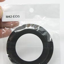 10x M42 Lens to Canon EOS EF Mount Adapter Ring 1100D 600D 60D 550D 5D 7D metal