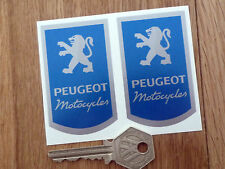 PEUGEOT MOTORCYCLE style stickers BikeMoped Scooter etc