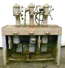 INDIANAPOLIS MACHINERY 3 HEAD DRILL PRESS, 1/2HP, 1725RPM, 440V, 56