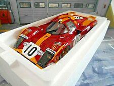 Ferrari 512m 512 m 24h le mans 1971 #10 suprimira Pesch Loos esso CMR resin 1:18