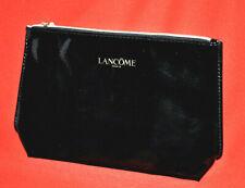 Lancome Makeup Bag Cosmetic Case Travel Toiletry Kit Empty Zipper Gloss Black