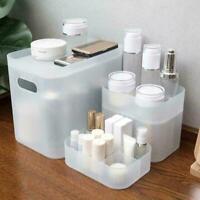 Desktop Plastic Jewelry Storage Box Case Organizer Table Dressing L6X3 with H0L5