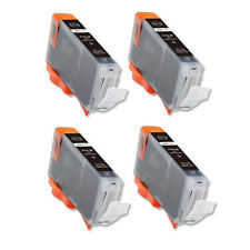 4 NEW PHOTO BLACK Ink Cartridge for BCI-6 Canon MP750 MP760 MP780 iP6000 iP8500