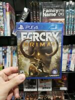 Far Cry Primal - PS4 - Brand New | Factory Sealed/THE MOVIE KINGDOM 🇺🇸