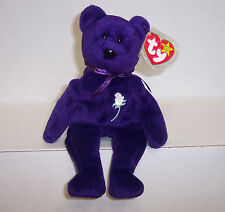 "1997 TY Beanie Babies "" Princess"" : PE Pellets : China Made : No Space {3161}"