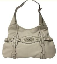 Gucci Purse Cream Jackie Leather Limited Edition 85 Years Gold Horse Bit Medium