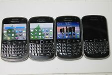 Lot of 4 Blackberry Bold 9900 Phones - used