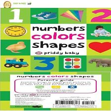 Toddler Learning Book First 100 Numbers Colors Shapes Board Toy Early Education