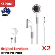 Original Apple Headphones Earphones For iPod iPad iPhone SAMSUNG Universal x2