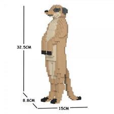 JEKCA Animal Building Blocks Kit for Kidults Meerkat 01S