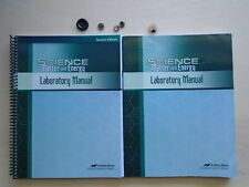 ABeka Book SCIENCE MATTER AND ENERGY homeschooling student/te Laboratory Manual