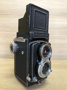 *Exc+4* Ricoh Ricohflex New DIA 80mm F/3.5 TLR 6x6 Medium Format Film Camera JPN