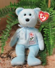 """TY~BRITISH COLUMBIA DOGWOOD Bear~Show Exclusive~8"""" Beanie Baby~Mint +Mint Tag~FS"""