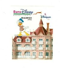 Maldives 1992 - Impressionists of Euro Disney Imperf Donald Duck S/S - Mnh